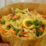 COOKING WITH CHEF JOHN HOWIE GRILLED SALMON PASTA SALAD
