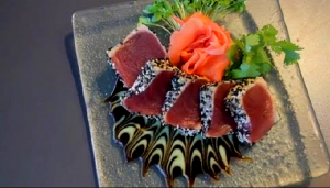 SESAME AND PEPPERCORN CRUSTED AHI TUNA RECIPE