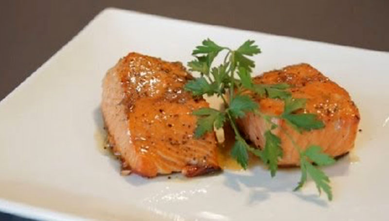 Cooking With Chef John Howie Whiskey Glazed Salmon Chef John Howie