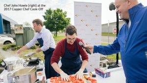 Chef-John-Howie-at-the-2017-Copper-Chef-Cook-off