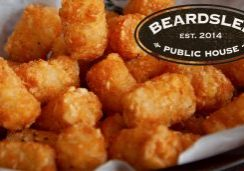 Beardslee Home Delivery tator tots instead of fries